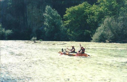 Acheron river tour 2002