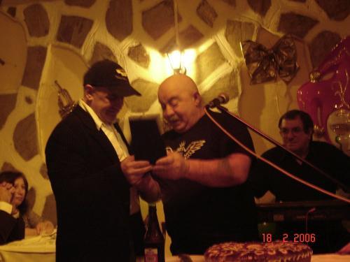 18-2-2006 the club κοπή πίτας