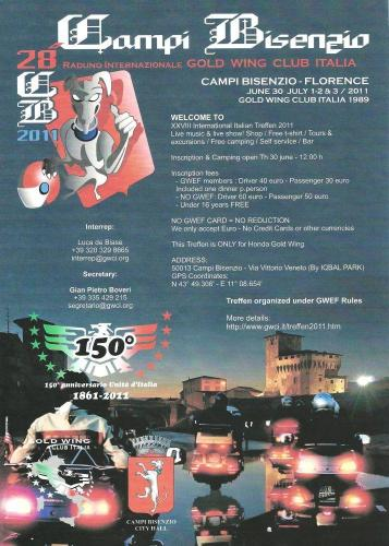 Italy t&t Campi Bisenzio treffen 2011